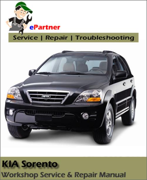 Product picture 2003-2013 Kia Sorrento Factory/OEM Repair Service Manual